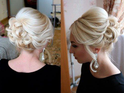 Объемный платиновый блонд