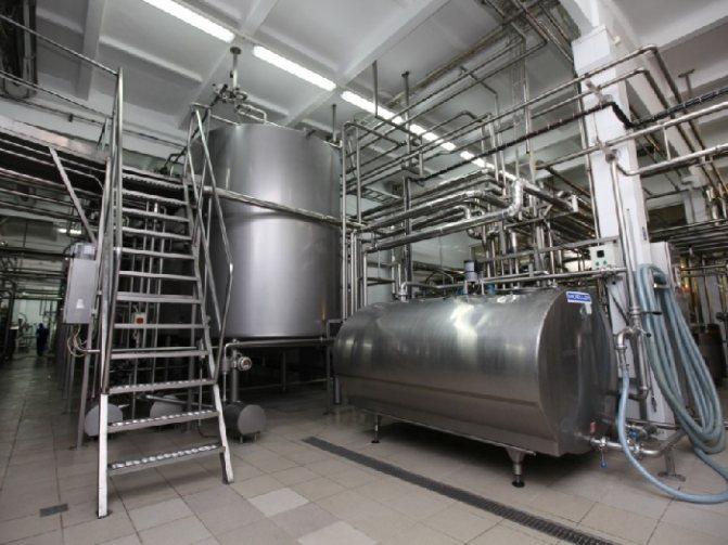 Оборудование для пастеризации молока