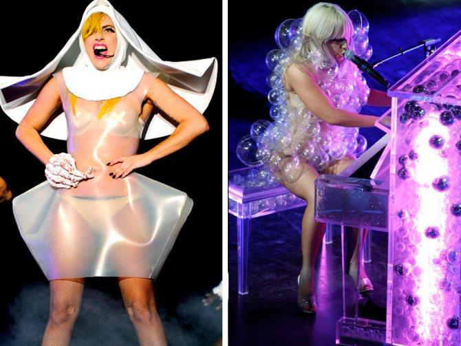 образы Леди Гага