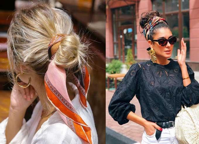 Образы с аксессуарами для волос