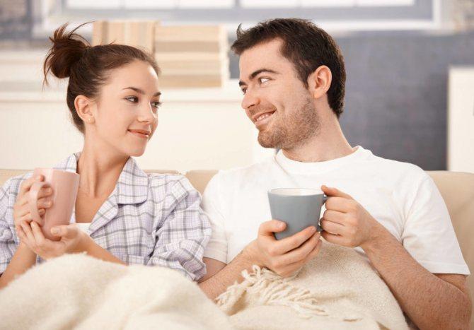 Общение мужа и жены
