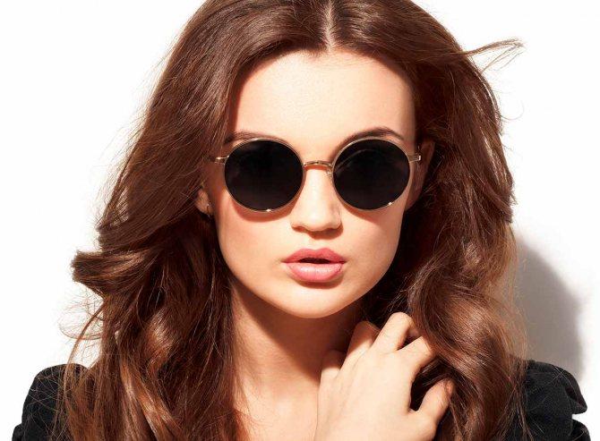 очки для шатенок