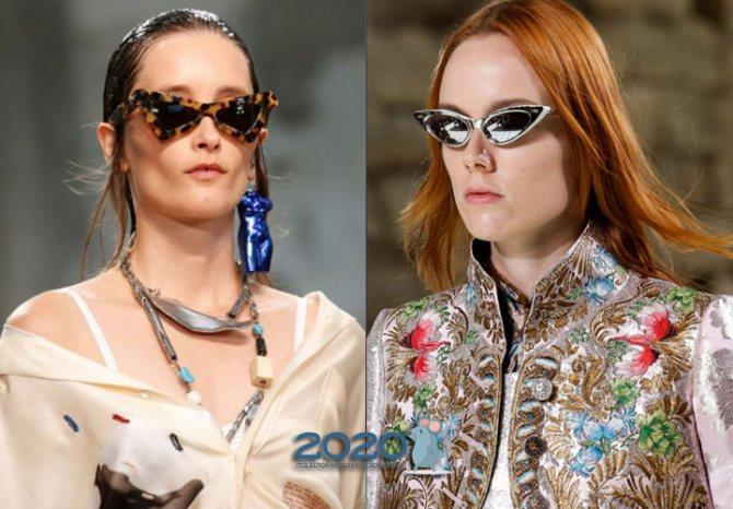 Очки и другие модные аксессуары зимы 2019-2020