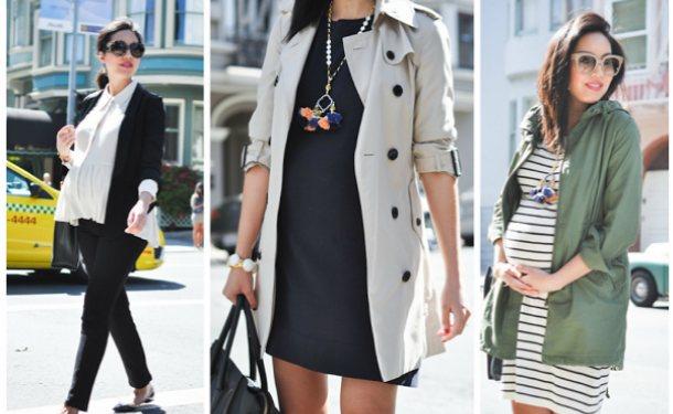 одеваться стильно во время беременности