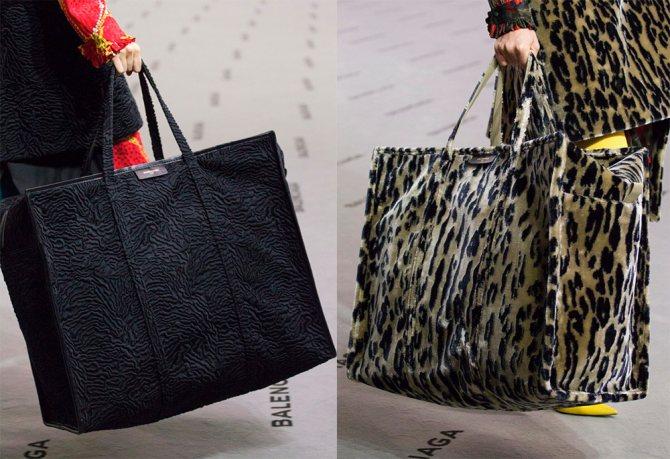 Огромные женские сумки 2017-2018