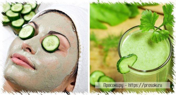 Огуречный сок - витаминный состав и полезные свойства напитка