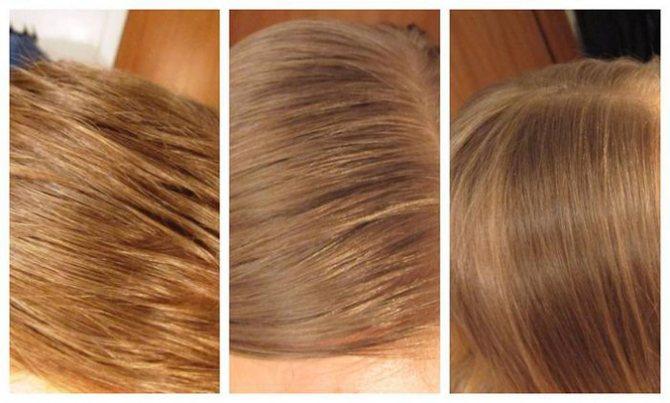 окрашенные волосы после соды блонд