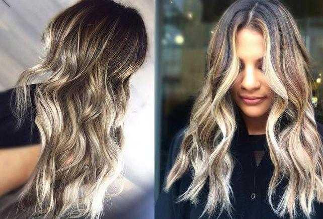 окрашивание балаяж на длинных волосах