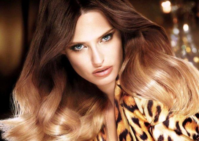 Окрашивание кончиков волос в домашних условиях