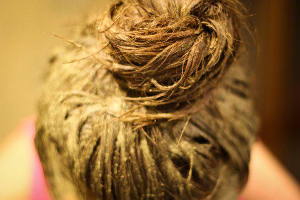 Окрашивание волос натуральным красителем