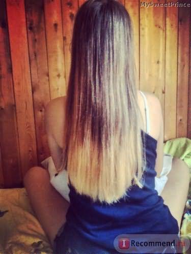 Окрашивание волос по технологии Шатуш фото