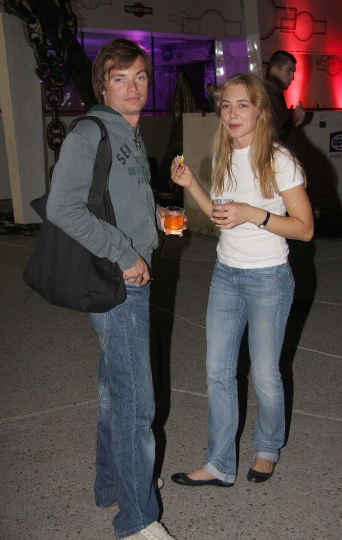 Оксана Акиньшина с первым мужем Дмитрием Литвиновым