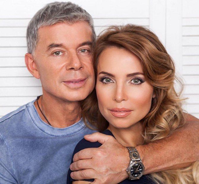 Олег со своей второй женой Мариной