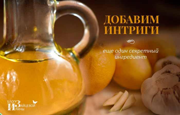 Оливковое масло и чеснок применение