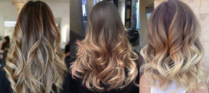 омбре можно сделать с эффектом блондирования.
