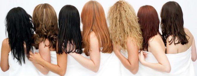 определить тип волос уход тест