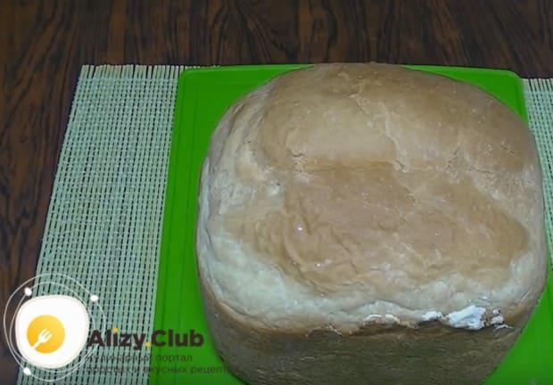 Опробуйте этот чудный рецепт белого хлеба для хлебопечки.