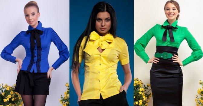 Оригинальные блузки - надень на первое сентября яркую вещь