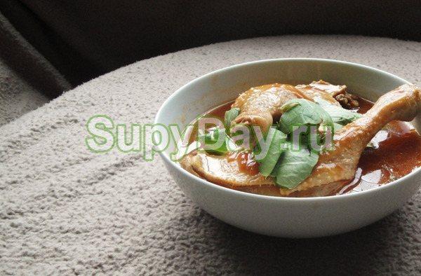 Оританг - корейский суп с уткой
