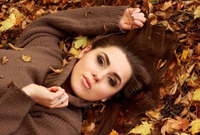 Осенний уход за жирной кожей