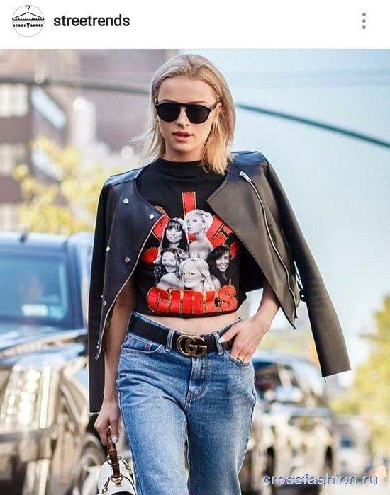 Ошибки в гардеробе: короткая облегающая куртка с джинсами при полных бедрах