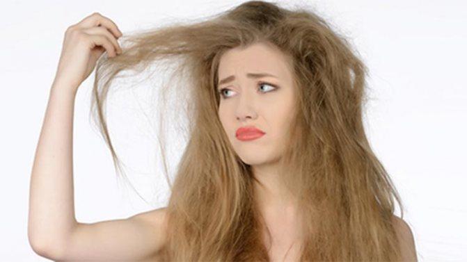 ослабления волос