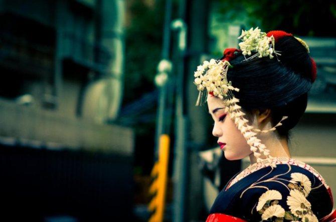 особенности и качества гейши