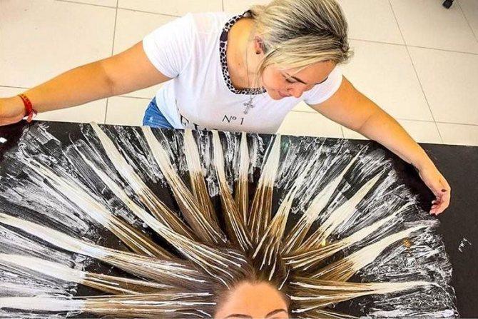 Особенности окрашивания волос балаяж