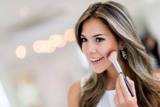 Особенности зимнего макияжа