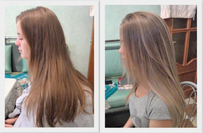 объектив формулу осветление волос ромашкой фото кинг