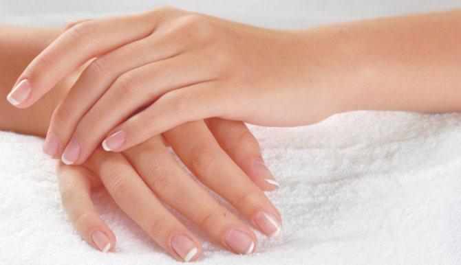Осветление волос на руках