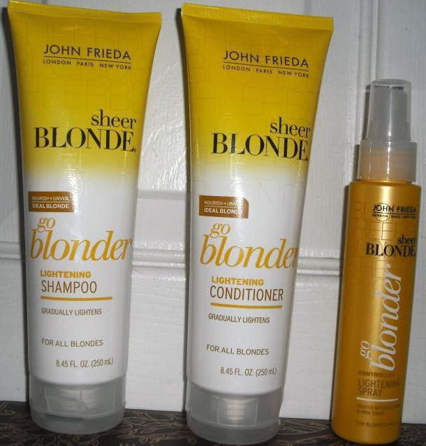 осветляющий шампунь для волос
