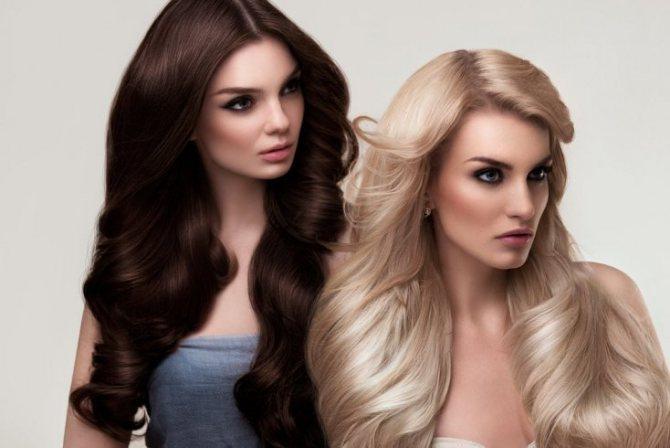 От чего зависит цвет волос
