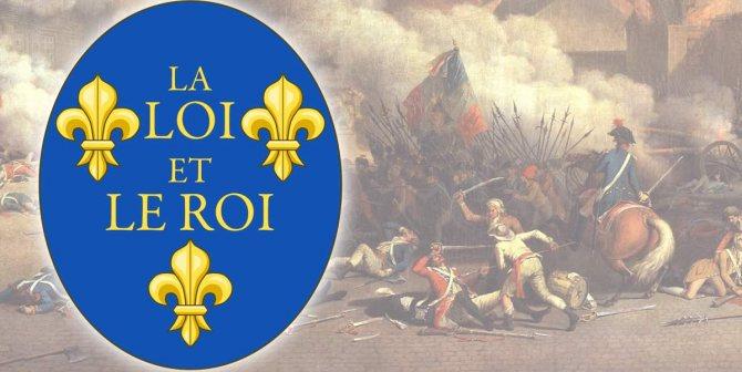 От Хлодвига до наших дней: как менялись лилии на французских знамёнах