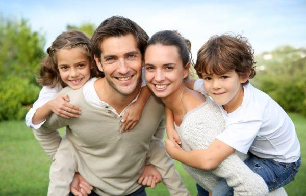 Отношения мужчины-Девы с детьми эмоционально сдержанные