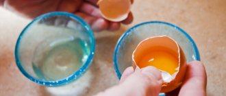 Отзывы о мытье волос яйцом