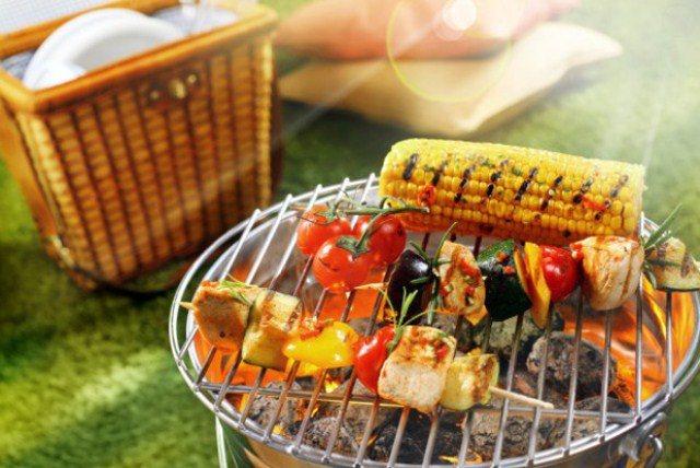 Овощи на огне