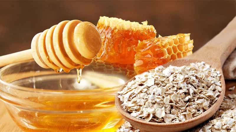 Овсянка с медом