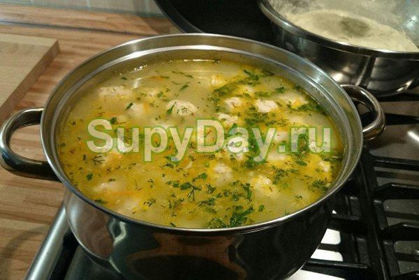 Овсяный диетический суп