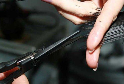 Оздоровительный сеанс для кончиков волос