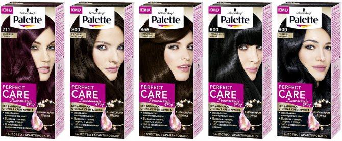 Palette Perfect Care палитра цветов