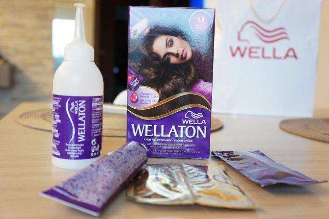 """'Палитра красок для волос """"Веллатон"""": палитра (фото)' width= """"610"""