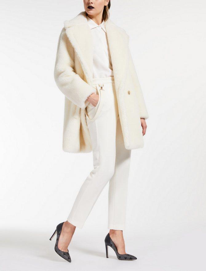 пальто чебурашка или teddy bear