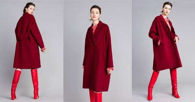 Пальто оверсайз Twinset 2018