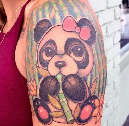 Панда-девочка
