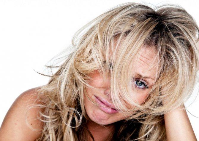 Паника при запутанных волосах