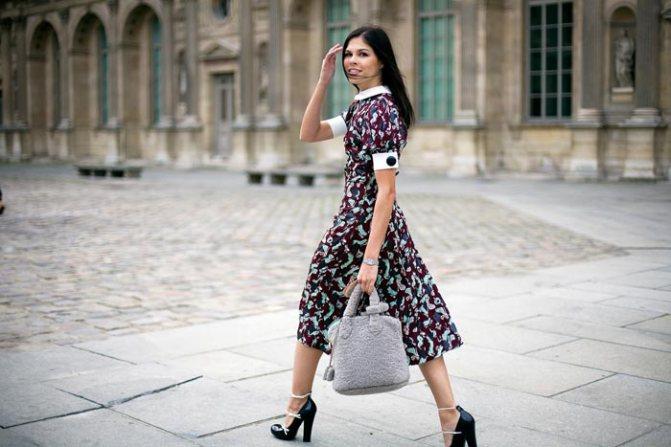 Парижская повседневная мода