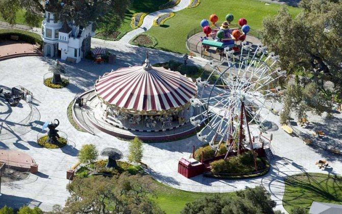 Парк развлечений ранчо Neverland