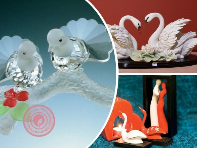 Парные предметы - статуэтки по фен шуй для любви