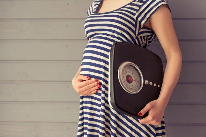 Патологическая прибавка массы тела при беременности